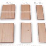 Listwy narożne i wykończeniowe - opaski drzwiowe - przykład